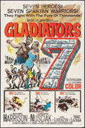"Movie Posters:Action, Gladiators 7 (MGM, 1963). One Sheet (27"" X 41"") & Half Sheet(22"" X 28""). Action.. ... (Total: 2 Items)"