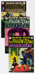Bronze Age (1970-1979):Horror, The Phantom Stranger #1-41 Complete Series Group (DC, 1968-76)Condition: Average FN-.... (Total: 41 Comic Books)