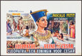 """Movie Posters:Foreign, A Queen for Caesar & Others Lot (Cobelcine, 1962)Folded, Overall Grade: Very Fine -. Belgians (3) (14.75"""" X 21.75"""" & 14.75"""" ... (Total: 3 Items)"""