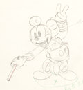 Animation Art:Production Drawing, Mickey's Circus Mickey Mouse Animation Drawing (Walt Disney, 1936)....