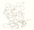 Animation Art:Production Drawing, The Pet Store Mickey Mouse and Minnie Mouse AnimationDrawing (Walt Disney, 1932). ...