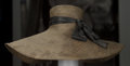 "American:Academic, A Zsa Zsa Gabor Collection of Straw Hats, Circa 1970s-1990s.. Fourtotal including: 1) a peach-colored one, label reads ""Fra...(Total: 4 Items)"