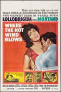 """Movie Posters:Drama, Where the Hot Wind Blows & Others Lot (MGM, 1960). One Sheets (3) (26.75"""" X 40.75"""" & 27"""" X 41"""") & Lobby Card (11"""" X 14""""). Dr... (Total: 4 Items)"""
