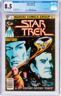 Modern Age (1980-Present):Science Fiction, Star Trek #1 (Marvel, 1980) CGC VF+ 8.5 Off-white to whitepages....