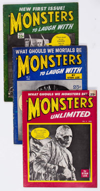 Marvel Monster Gag Magazines Group of 5 (Marvel, 1964-65) Condition: Average GD/VG.... (Total: 5 Items)