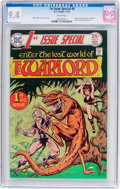 Bronze Age (1970-1979):Superhero, 1st Issue Special #8 Warlord (DC, 1975) CGC NM 9.4 White pages....