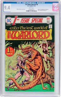 1st Issue Special #8 Warlord (DC, 1975) CGC NM 9.4 White pages