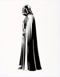 "Original Comic Art:Illustrations, Rick Hoberg Star Wars Darth Vader ""Side View""Licensing/Style Guide Illustration Original Art (Lucas Films,undate..."