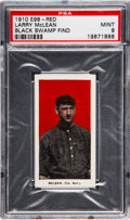 "Baseball Cards:Singles (Pre-1930), 1910 E98 ""Set of 30"" Larry McLean (Red) PSA Mint 9 - Black SwampFind. ..."