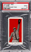 "Baseball Cards:Singles (Pre-1930), 1910 E98 ""Set of 30"" Ty Cobb (Red) - PSA Mint 9 - Black SwampFind...."