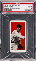 "Baseball Cards:Singles (Pre-1930), 1910 E98 ""Set of 30"" Russ Ford (Red) PSA Mint 9 - Black SwampFind...."