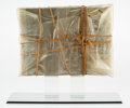 Fine Art - Work on Paper:Print, Christo (b. 1935). Wrapped Book Modern Art, 1978. Hardcover book Modern Art by Sam Hunter and John Jacobus, wrapped ...