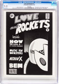 Magazines:Humor, Love and Rockets #1 (A Hernandez Production, 1982) CGC NM/MT 9.8White pages....