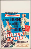 "Movie Posters:Adventure, Green Fire & Other Lot (MGM, 1954). Window Cards (2) (14"" X 22""). Adventure.. ... (Total: 2 Items)"