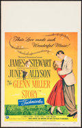 "Movie Posters:Drama, The Glenn Miller Story (Universal International, 1954). Window Card (14"" X 22""). Drama.. ..."