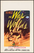"Movie Posters:Science Fiction, The War of the Worlds (Paramount, 1953). Window Card (14"" X 22"").Science Fiction.. ..."