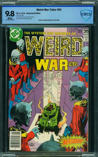 Weird War Tales #63 - CBCS CERTIFIED (DC, 1978) CGC NM/MT 9.8 White pages