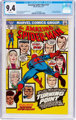 The Amazing Spider-Man #121 (Marvel, 1973) CGC NM 9.4 White pages