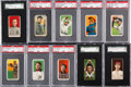 Baseball Cards:Lots, 1909-11 T205, T206 & T207 Baseball Collection (123) With 2 CobbCards. ...