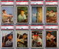 Baseball Cards:Sets, 1953 Bowman Color Baseball Complete Set (160) With EX-MT Mantle. ...