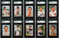 Baseball Cards:Lots, 1952 Bowman Baseball Shoe Box Collection (278). ...
