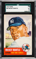 Baseball Cards:Singles (1950-1959), 1953 Topps Mickey Mantle #82 SGC 70 EX+ 5.5....