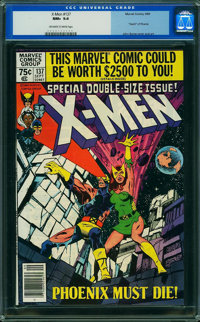 X-Men #137 (Marvel, 1980) CGC NM+ 9.6 Off-white to white pages
