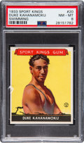 Olympic Cards:General, 1933 Sport Kings Duke Kahanamoku #20 PSA NM-MT 8....