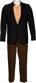 Music Memorabilia:Costumes, Elvis Presley Personally Owned and Worn Suit (Circa 1950s)....