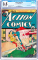 Action Comics #29 (DC, 1940) CGC VG- 3.5 Slightly brittle pages