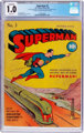 Superman #3 (DC, 1939) CGC Conserved FR 1.0 Brittle pages