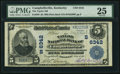 National Bank Notes:Kentucky, Campbellsville, KY - $5 1902 Plain Back Fr. 598 The Taylor NB Ch. #(S)6342. ...