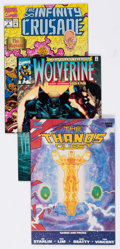 Modern Age (1980-Present):Miscellaneous, Marvel Modern Age Comics Box Lot (Marvel, 1980s-90s) Condition: Average VF/NM.... (Total: 4 Box Lots)