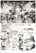 Original Comic Art:Panel Pages, Barry Windsor-Smith and Alex Bialy Rune #6 Story Page 12Original Art (Malibu, 1994)....