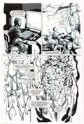 Original Comic Art:Panel Pages, Barry Windsor-Smith and John Floyd Rune #4 Story Page 13Original Art (Malibu, 1994)....