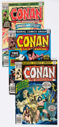 Bronze Age (1970-1979):Adventure, Conan the Barbarian and Others Long Box Group (Marvel, 1970s-80s) Condition: Average FN....