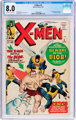 X-Men #3 (Marvel, 1964) CGC VF 8.0 Off-white to white pages