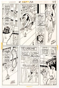 Curt Swan and Murphy Anderson Superman #261 Story Page 23 Star Sapphire Original Comic Art