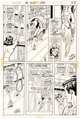 Curt Swan and Murphy Anderson Superman #261 Story Page 23 Star Sapphire Original Art (DC, 1973)