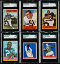 Football Cards:Lots, 1964 - 1967 Philadelphia Football Collection (133) Plus 1948 Leaf (3) And 1963 Topps (1). . ...
