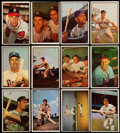 Baseball Cards:Lots, 1953 Bowman Baseball B/W & Color Collection (225). . ...