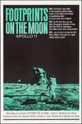 "Movie Posters:Documentary, Footprints on the Moon: Apollo 11 (20th Century Fox, 1969). Folded, Very Fine-. One Sheet (27"" X 41""). Documentary.. ..."