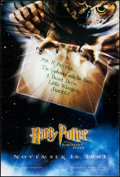 """Movie Posters:Fantasy, Harry Potter and the Sorcerer's Stone (Warner Brothers, 2001). One Sheet (27"""" X 40"""") DS Advance. Fantasy.. ..."""