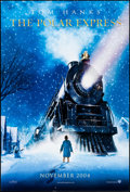 "Movie Posters:Animation, The Polar Express (Warner Brothers, 2004). One Sheet (27"" X 41"") DS Advance, D. Chiang Artwork. Animation.. ..."