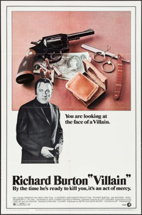 """Villain & Other Lot (MGM, 1971). One Sheets (2) (27"""" X 41""""). Crime. ... (Total: 2 Items)"""