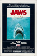 "Movie Posters:Horror, Jaws (Universal, 1975). One Sheet (27"" X 41""). Roger KastelArtwork. Horror.. ..."