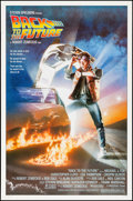 """Movie Posters:Science Fiction, Back to the Future (Universal, 1985). One Sheet (27"""" X 41"""") DrewStruzan Artwork. Science Fiction.. ..."""