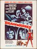 """Movie Posters:Drama, Brainwashed & Other Lot (Allied Artists, 1961). Posters (2) (30"""" X 40""""). Drama.. ... (Total: 2 Items)"""