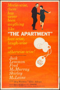 """Movie Posters:Comedy, The Apartment (United Artists, 1960). Poster (40"""" X 60""""). Comedy....."""