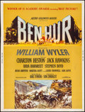 "Movie Posters:Academy Award Winners, Ben-Hur (MGM, 1959). Poster (30"" X 40"") Style Z. Academy Award Winners.. ..."